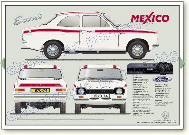 Page 027B Ford Escort Mk1 Mexico 1970-74