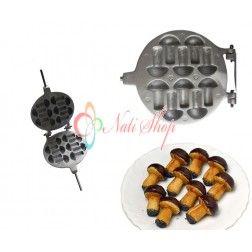 Forma prajituri ciupercute cu maner reglabil din plastic
