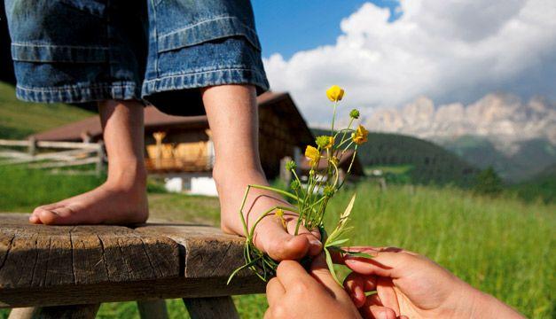 Zuid Tirol- Roter Hahn-logeren bij de boer