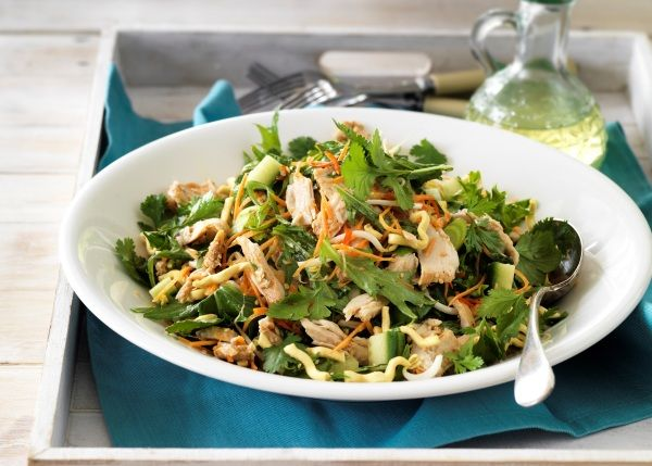 Sesame chicken salad, loads of flavour and texture from foodlovers.co.nz