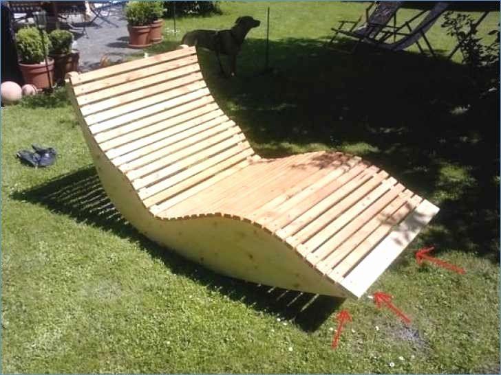 Hervorragend Relaxliege Holz Bauanleitung Die Besten 25 Gartenliege Selber DC77