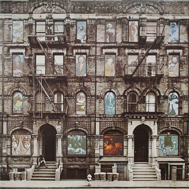 Physical Graffiti 1975 Rock Album Covers Led Zeppelin Album Covers Led Zeppelin Physical