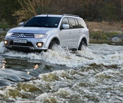 2014 Mitsubishi Pajero Sport powerful off road performance