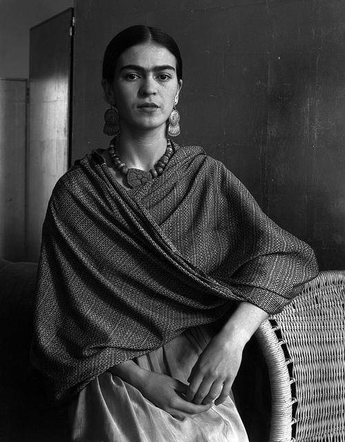Frida Kahlo, 1931, by Imogen Cunningham