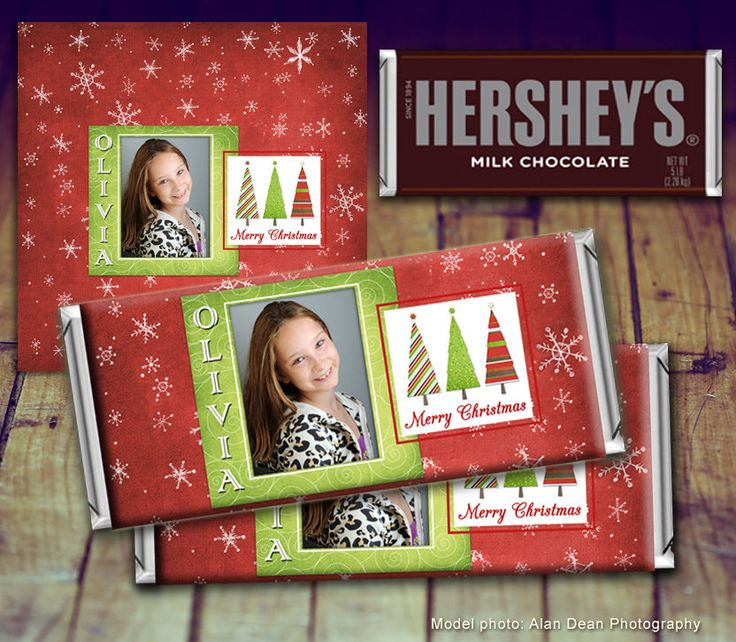 Christmas Candy Bar Wrapper, Printable Christmas, Teacher Gift, Christmas Photo Gift, Personalized Candy Wrapper, Gift Under 10 by LittlePrintsOttawa on Etsy