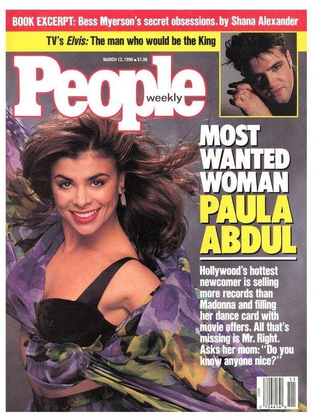 People Magazine - March 12, 1990 - Paula Abdul