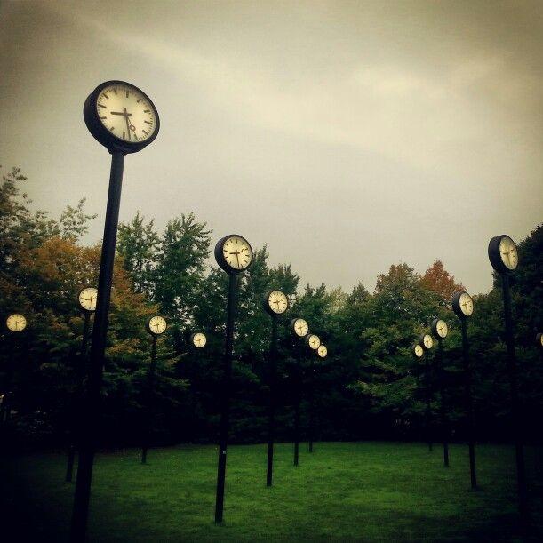 Clocks in Dusseldorf