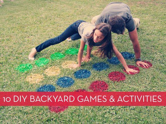 Roundup: 10 Fun DIY Backyard Entertainment Ideas | Curbly