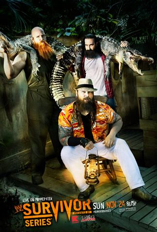 """The 27th annual """"WWE Survivor Series"""" is here, with John Cena and Randy Orton defending their titles, while CM Punk and Daniel Bryan join forces to take on the Wyatt Family. Follow along with Zap2it's live blog of the event to see who leaves victorious."""