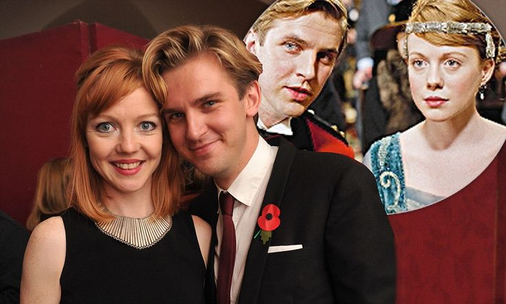He does prefer redheads! Downton Abbey star Dan Stevens on why his wife is his only leading lady