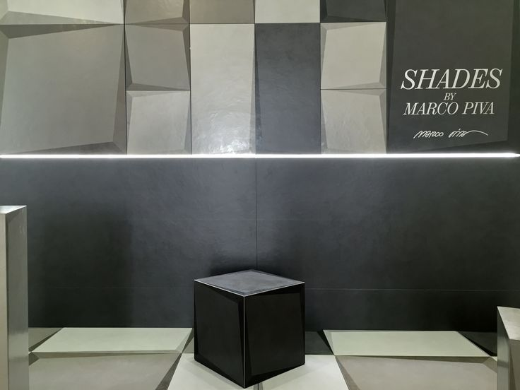 "The ""apparent"" third dimension of ceramics Marco Piva Design for Casalgrande Padana.  http://www.casalgrandepadana.com/media/news/shades"