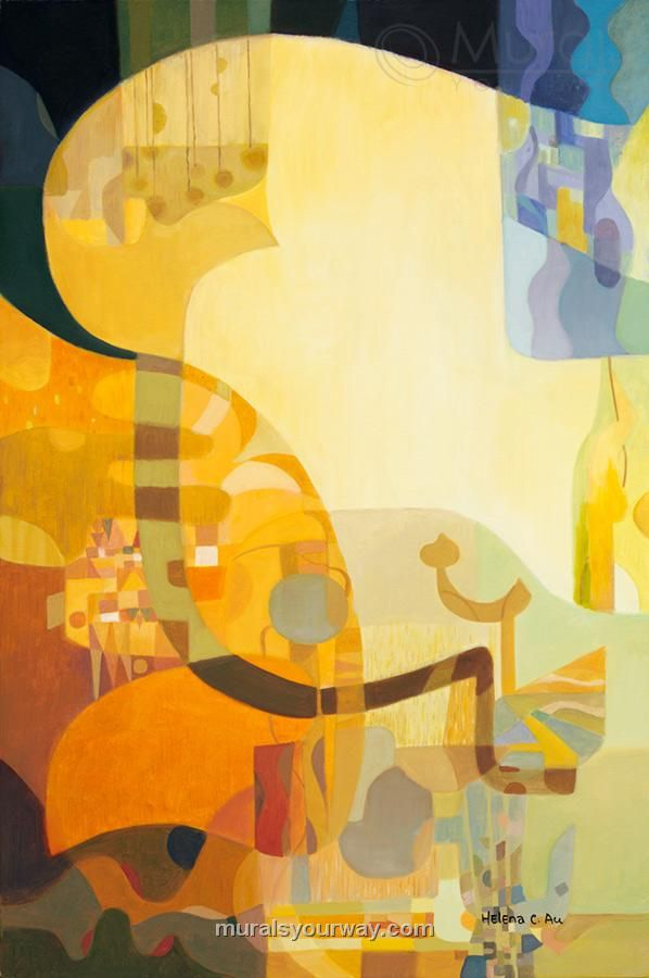 Helen lam was born in hong kong currently based in canada with her husband au ching who is also a professional artist