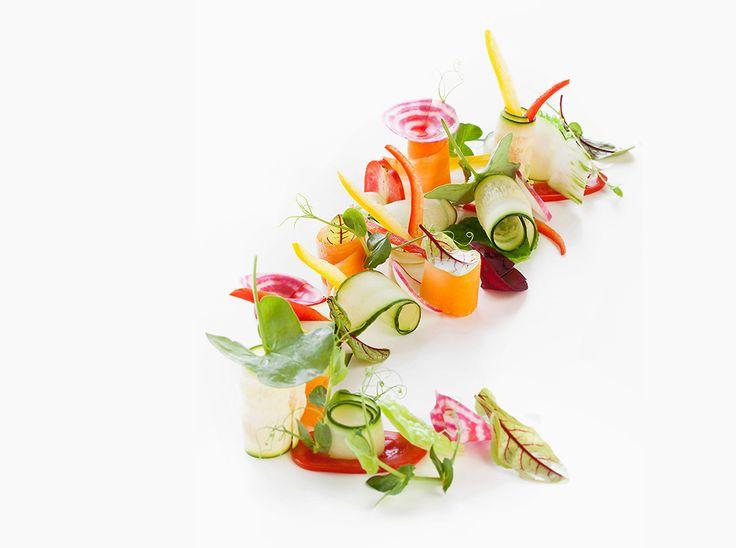 Felice Lo Basso | foto Barbara Santoro | Pinzimonio di verdure ed erbe