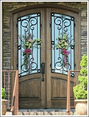 17 best ideas about Unique Front Doors on Pinterest | Iron work ...