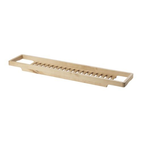 OWN IT & HATE IT! || MOLGER  Bath rack, birch  $14.99	  Article Number :   701.545.98  Fits most bathtubs due to its broad ends.