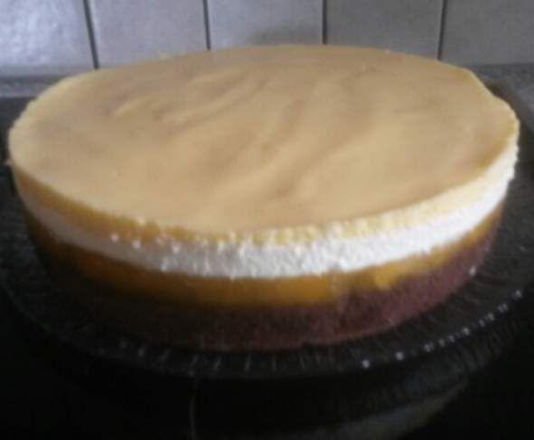 Rezept Solero-Torte -> schmeckt wie das Eis :) von ia10 - Rezept der Kategorie Backen süß