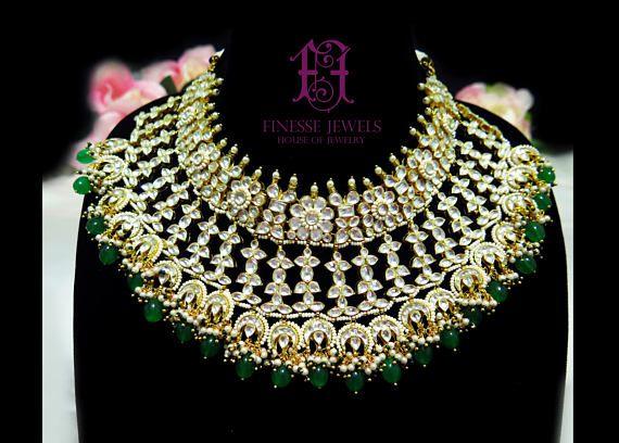 796 best Kundan Polki, Indian Bridal Jewelry, Art Karat ...