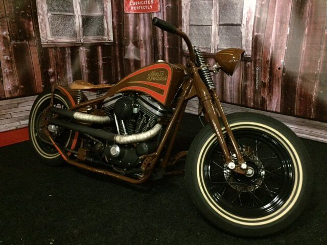 Harley Davidson 1200 Sportster Hardtail custom '87 - This time not a classic American car but a one of a kind '87 Harley Sportster 1200 hardtail custom for sale! Some specs: Frame and Petrol/oil …