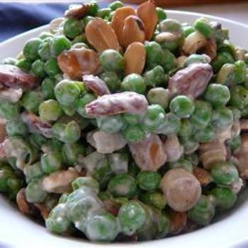 Balsamic Pea SaladPeas Saladoh, Cooking Salad, Crayons Crafts, Peas Salad Oh, Recipe, Balsamic Peas, Salad Food, Head Salad, Food Salad