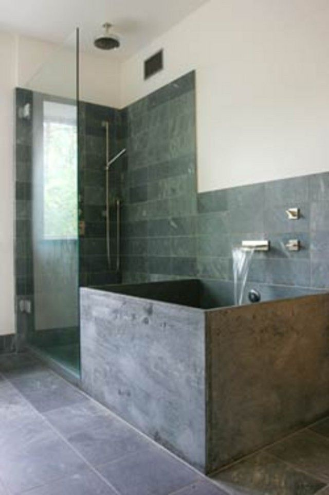 bathroom soapstone tiles