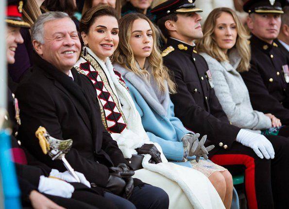 Princess Salma Graduated From Rma Sandhurst Course Queen Rania