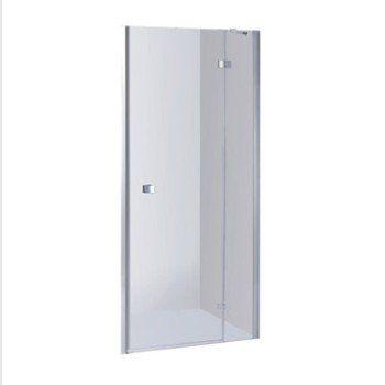 Porte de douche pivotante 68/70.5 cm profilé chromé, Premium2 | Leroy Merlin