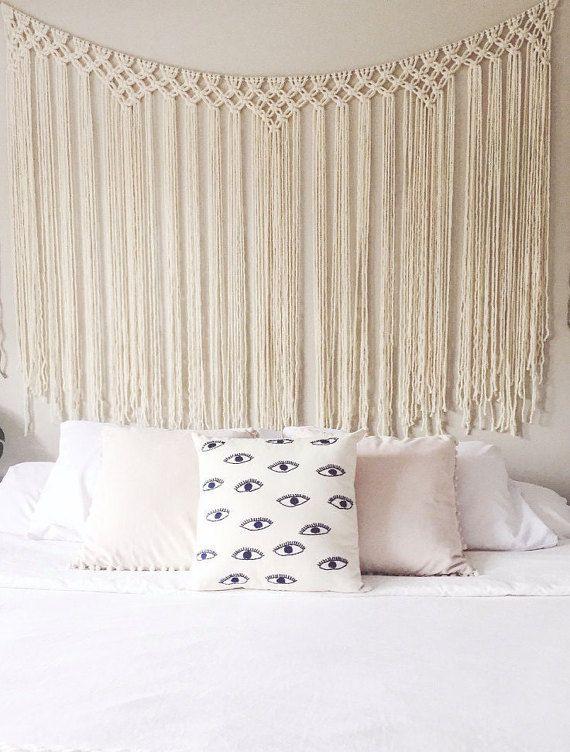 les 25 meilleures id es de la cat gorie rideaux macram sur pinterest rideau macram rideaux. Black Bedroom Furniture Sets. Home Design Ideas