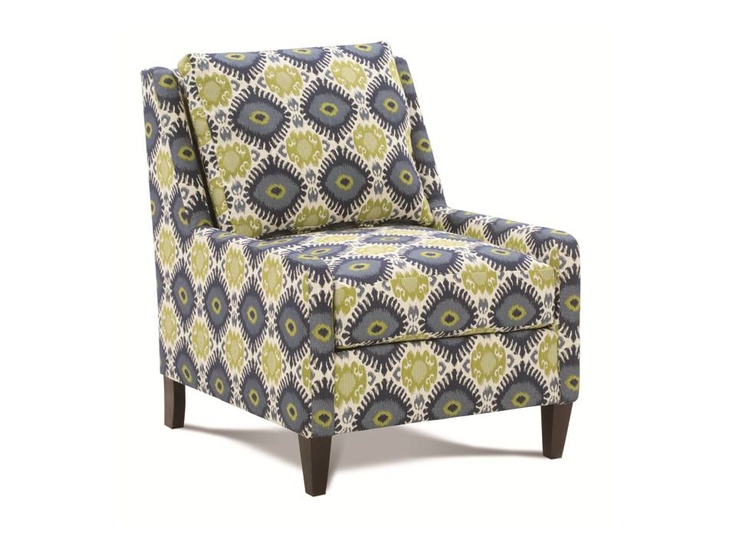 Rowe Tasker Accent Chair   Navy   The Rowe Tasker Accent Chair   Navyu0027s  Bright Colors, Bold Print, And Sleek Shape Make It Mod.