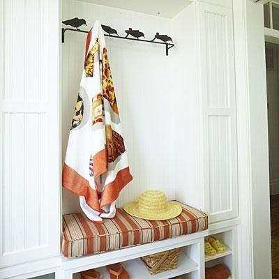 SouthernLiving See More Mudroom Storage