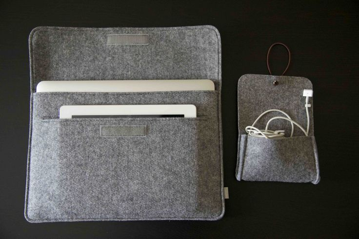 The Inateck laptop sleeve can hold an iPad, Macbook Air and has an additional pouch for your charger