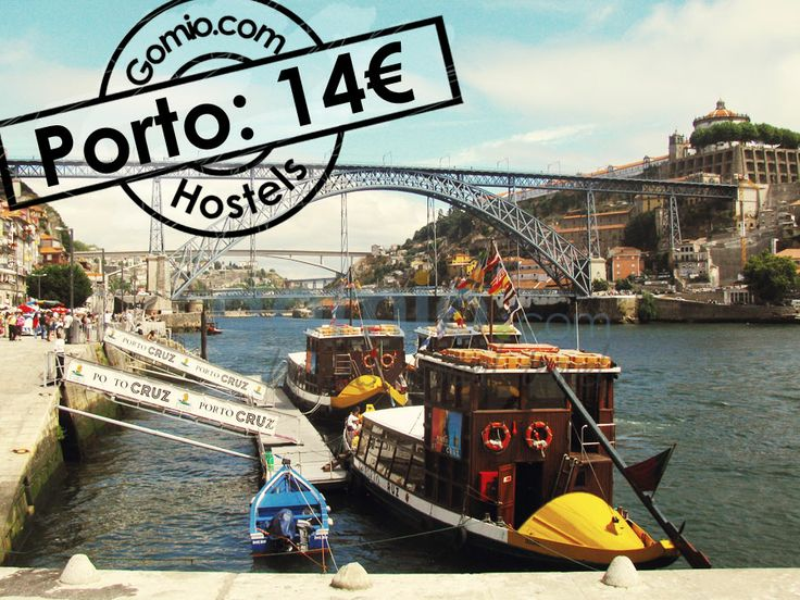 """#Porto, #Portugal 14€  Another cheap #European #summer #destination at a #River is Porto. Have a wine tasting, walk through the old town, and get #inspired by the """"#HarryPotter #Library"""" in Porto. Find all cool and #cheap #hostels in Porto here.  http://www.gomio.com/en/hostels/europe/portugal/porto/search.htm  #Backpacking #Hostel #Hosteling #backpacker #travel #summer #sun #beach #traveling #ideas #inspiration"""