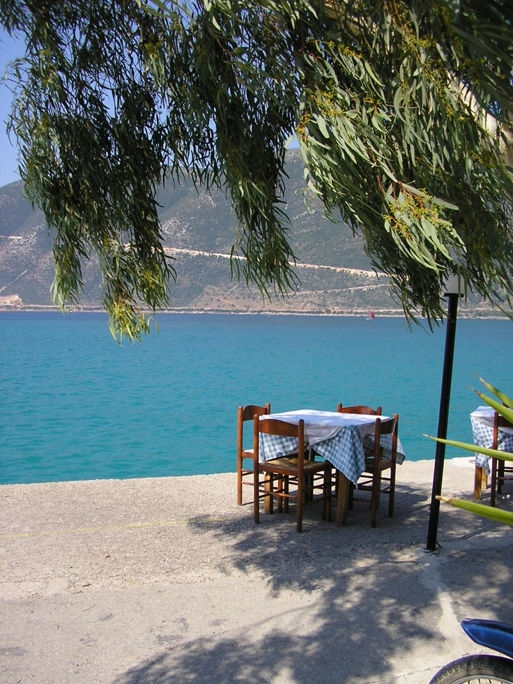 Vasiliki, Lefkas. My sister is named after this town ;)