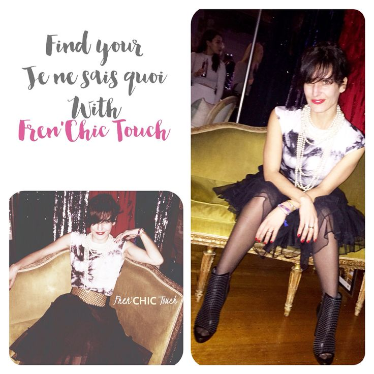 Find your je ne sais quoi http://www.facebook.com/frenchictouch