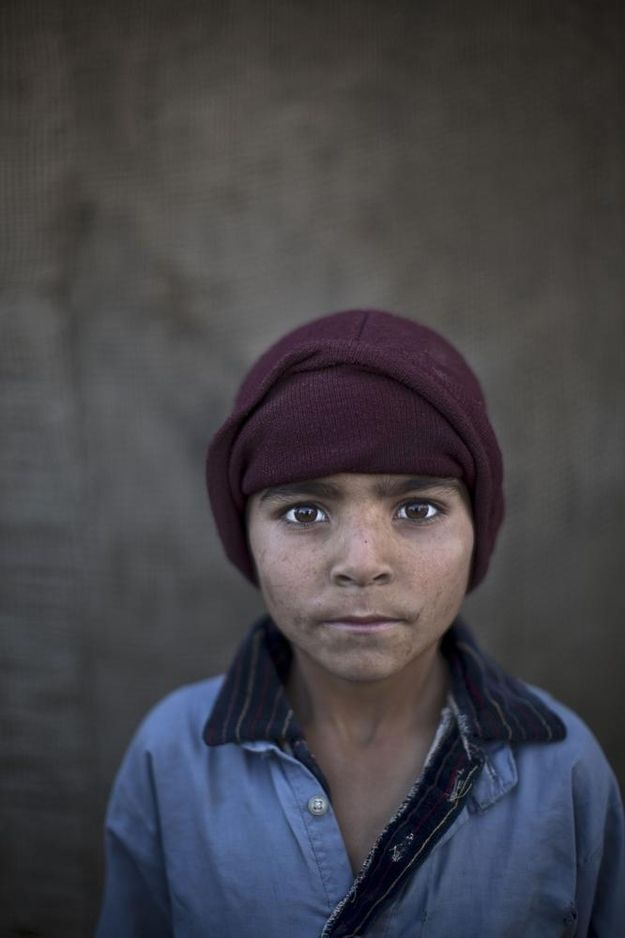 Noorkhan Zahir, age 6.