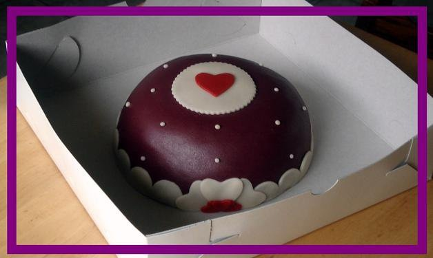 A love(ly) birthday cake :) Made by AMBD