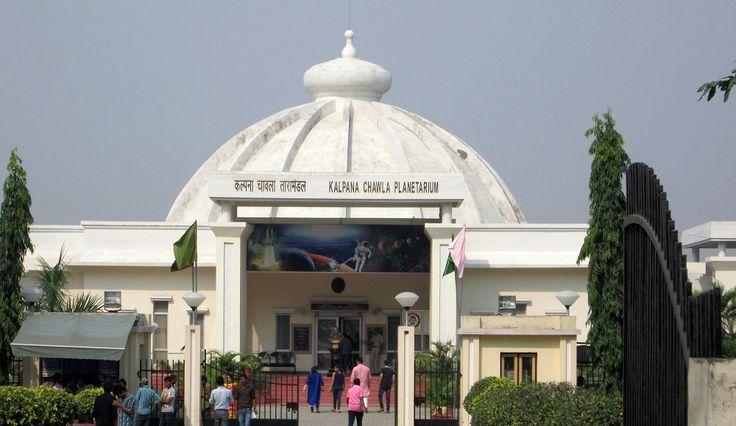 Kalpana Chawla Planetarium. It is situated 5Km from Jyotisar Lake.