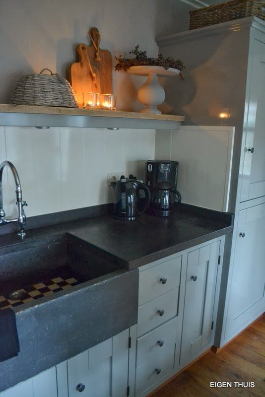 Keuken Verven Kleur : Fennville Michigan The Rustic Kitchen