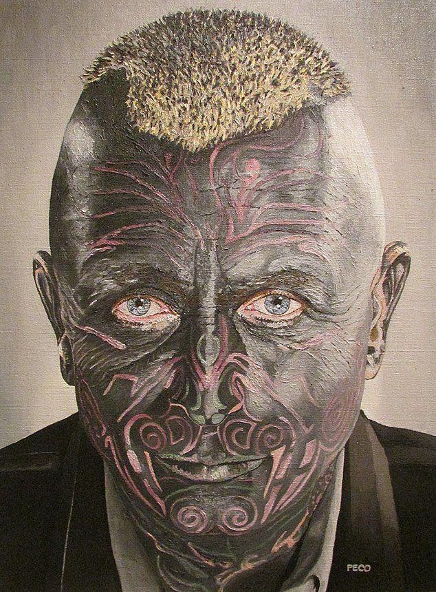 Vladimir Franz by Peco Art ... Oil on canvas, 40x55cm ...