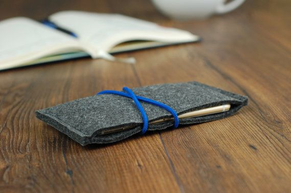 IPHONE 6s CASE - Adjust Size For Any Other Phone - Felt Phone Cover