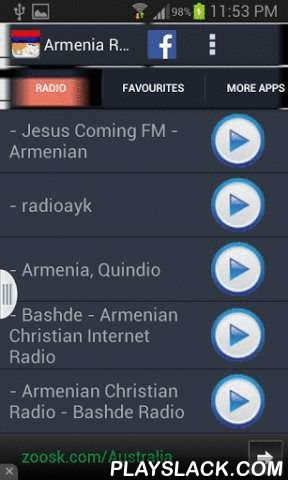 Armenia Radio News  Android App - playslack.com , Do you love Armenian music? Now you can listen to best Armenian radio stations from this app. You can also create your own custom favourite stations. Not only that, you can also read Armenian Newspapers while you enjoy music.