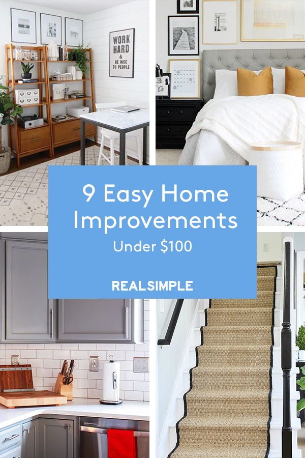 9 Easy Home Improvements Under 100 Renovation Home Improvement