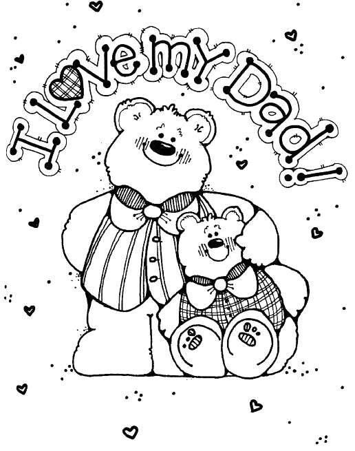 disney fathers day coloring pages | 22 best images about Coloring Pages For Bentley on ...