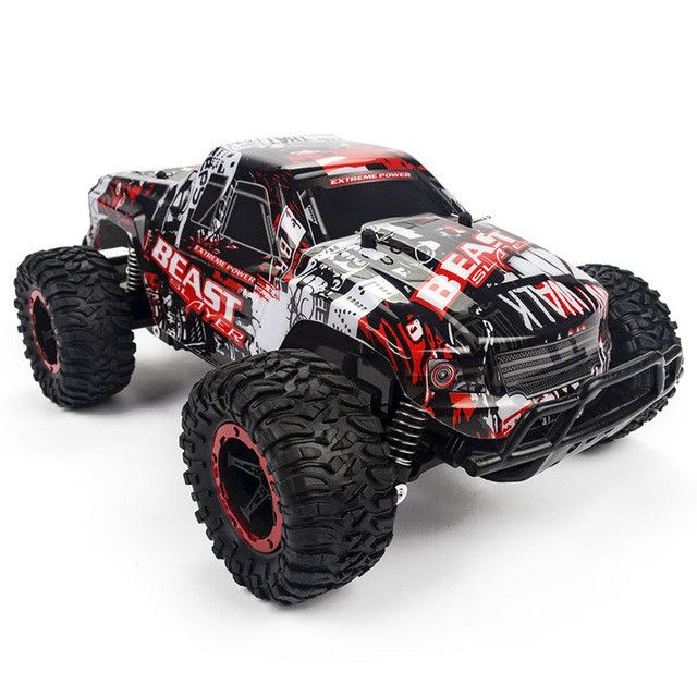 HELIWAY New RC Car High Speed SUV 4 Wheel Drife Double Motors Big Foot Cars Remote Control Radio Controlled Off Road Car Toys