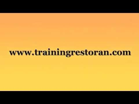 Training Restoran terpecaya