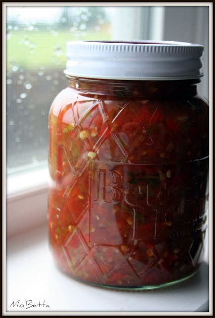 Jalapeno Salsa Canning Recipe...  Ingredients: 3 cups chopped peeled cored tomatoes 3 cups chopped jalapeno peppers  1 cup chopped onion 6 cloves garlic, minced 2 tablespoons minced cilantro  2 teaspoons dried oregano 1 1/2 teaspoons salt 1/2 teaspoon cumin 1 cup cider vinegar