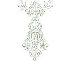 Výšivka Čataj, 13,8x8,1 cm