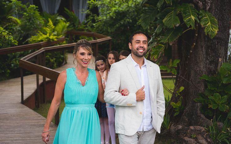 Casamento na Praia/SP.
