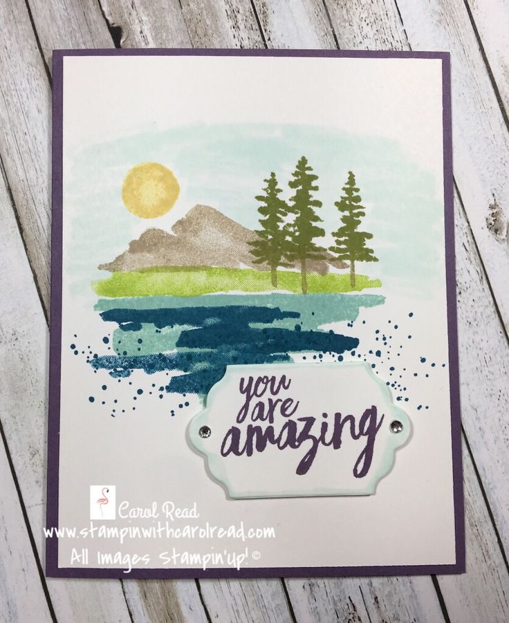 Hello and Welcome, Today's card share is showcasing the fun Waterfront stamp set. Over the next few days I will take you through a few samples of this se
