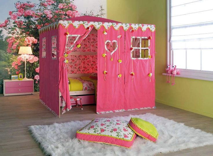 Chic Kids Room Inspiration Beds With Classic Tents