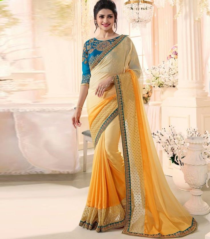 INDIAN PAKISTANI WEDDING SAREE PARTY WEAR SARI BOLLYWOOD HOLI SPECIAL SUIT DREES #KRISHACREATION